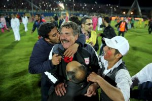 El Tractor Sazi es un club de fútbol de Irán, que juegan en la primera división de este país asiático. Foto:AFP