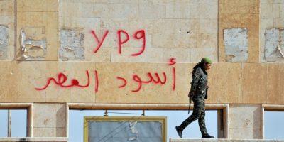 El objetivo de los rebeldes es luchar contra el Estado Islámico. Foto:AFP