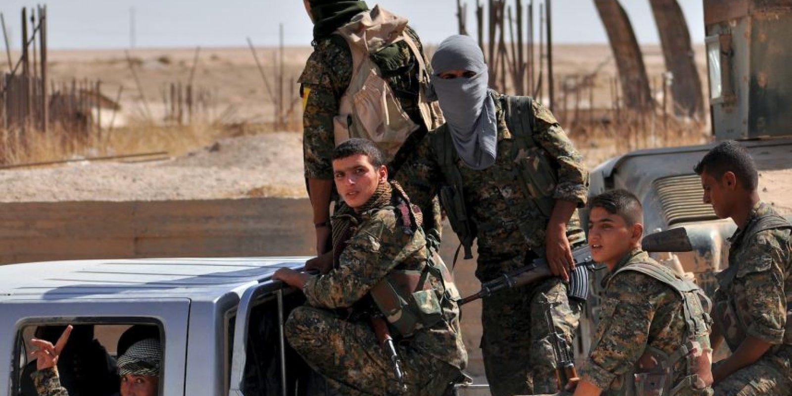 Por esa razón el Departamento de Defensa de Estados Unidos a decidió apoyar a los rebeldes vía aérea. Foto:AFP