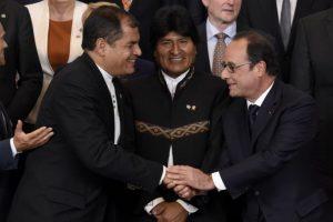 4. Es el primer presidente de origen indígena Foto:AFP