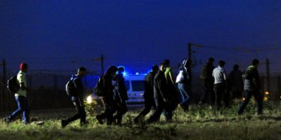 Este los lleva desde la ciudad francesa Calisia hasta la ciudad Dover de Inglaterra. Foto:AFP