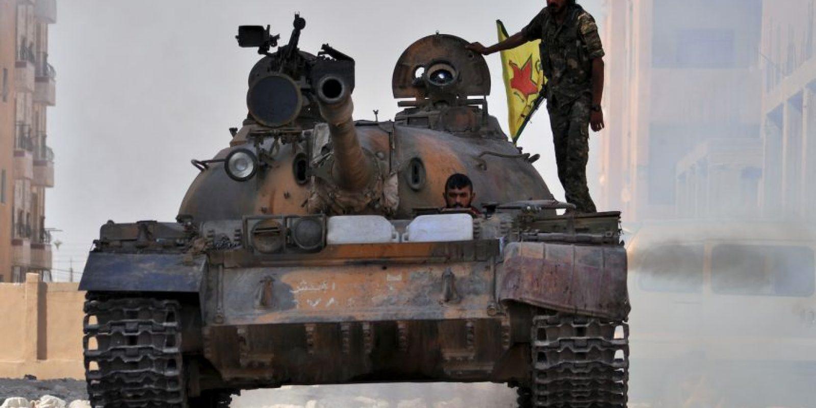 Después de dos semanas de que los rebeldes entrenados llegaran a territorio sirio fueron atacados. Foto:AFP
