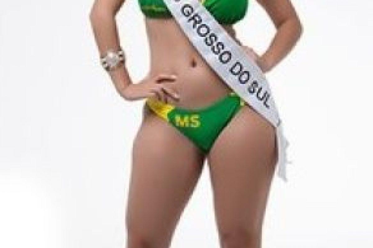 Nathalia Mendes de Mato Grosso do Sul. Foto:missbumbum2015.com.br