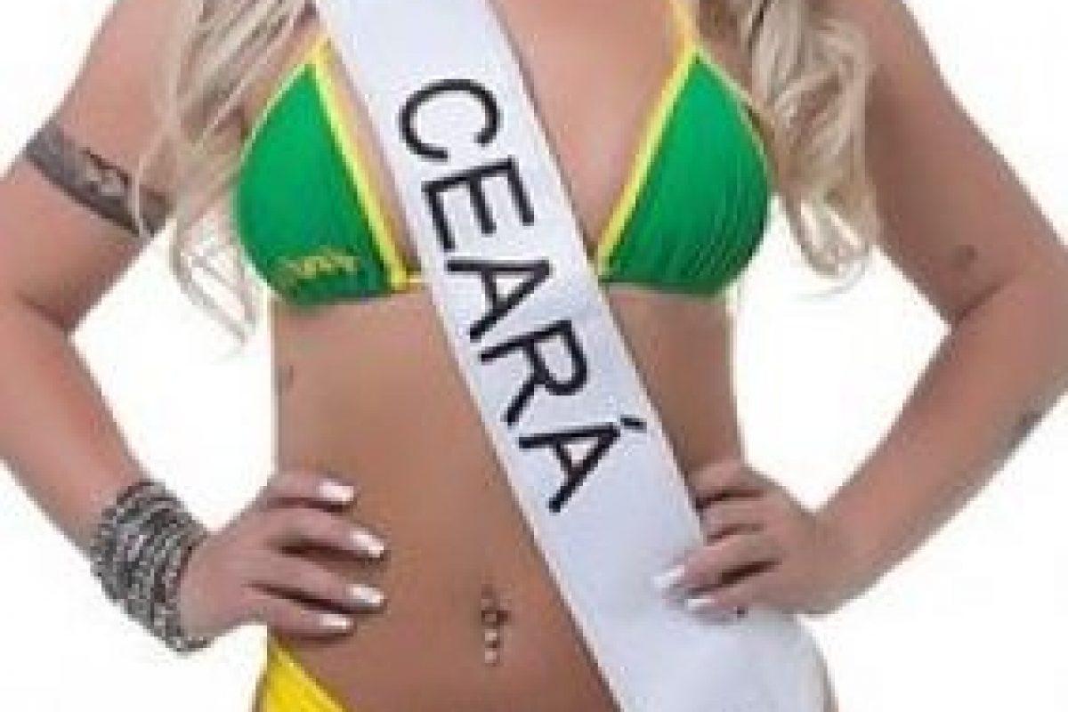 Laura Biral de Ceará. Foto:missbumbum2015.com.br