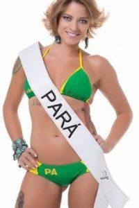 Berta Souza de Pará. Foto:missbumbum2015.com.br