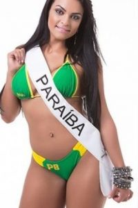 Debora Dantas de Paraíba. Foto:missbumbum2015.com.br
