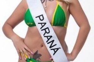 Thamara Amancio de Paraná. Foto:missbumbum2015.com.br