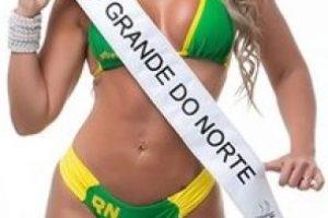 Cris Moreno de Rio Grande do Norte. Foto:missbumbum2015.com.br