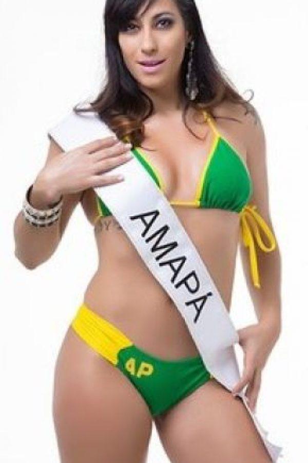 Mile Camargo de Amapa. Foto:missbumbum2015.com.br