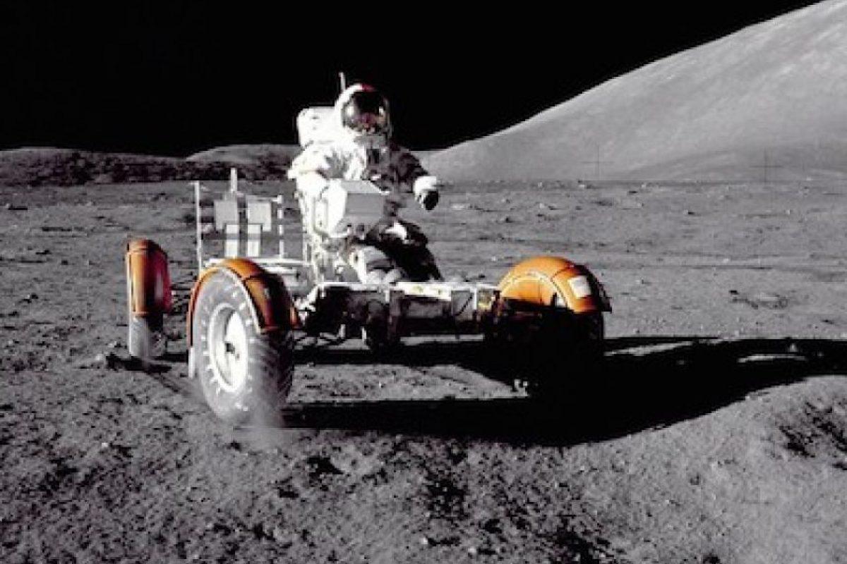 Imagen de la misión Apollo 17 en la Luna Foto:Instagram.com/NASA