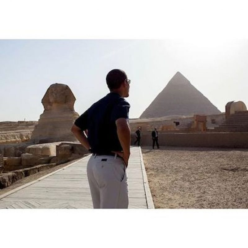 De visita en Egipto Foto:Instagram.com/PeteSouza