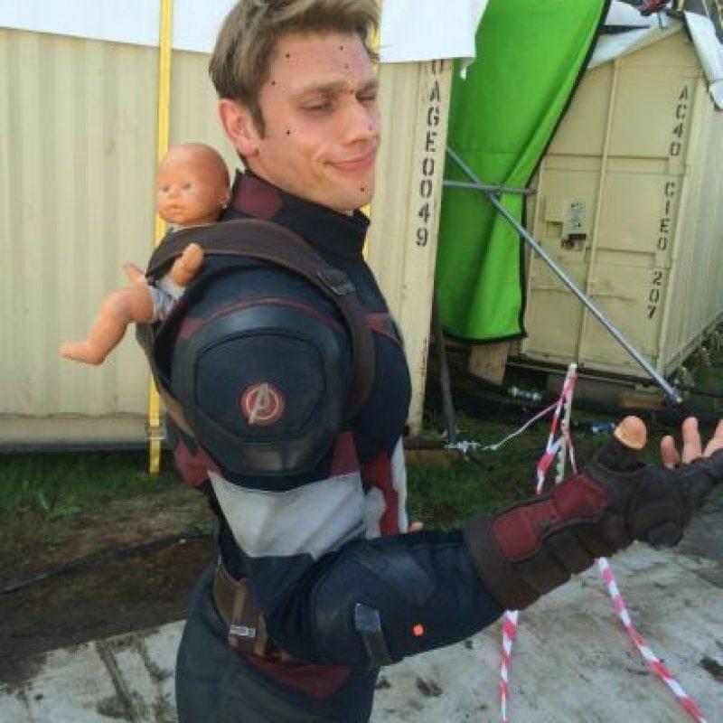 """Es otro de los actores que colabora con Evans para crear las escenas de acción de """"Steve Rogers"""" Foto:vía instagram.com/listersbox"""