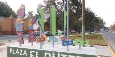 FOTOS. Plaza El Güipil, para la convivencia familiar
