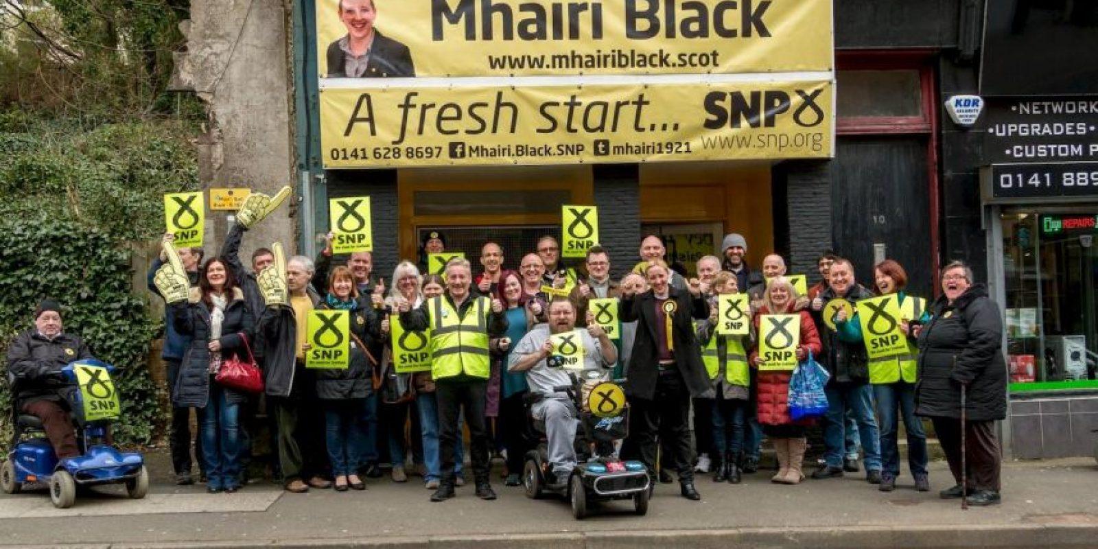 Foto:Facebook.com/Mhairi.Black.SNP