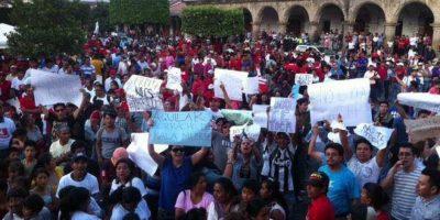 Baldizón responde luego de la interrupción en el mitin de La Antigua