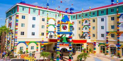 FOTOS. El increíble hotel de Lego abre sus puertas en Florida