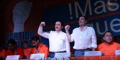 Mario David García candidato a la presidencia por el Partido Patriota