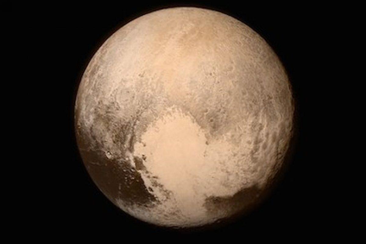 La primera imagen que la sonda New Horizons tomó de Plutón Foto:Instagram.com/NASA