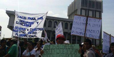 GALERÍA. Organizaciones campesinas se unen a la lucha contra la corrupción