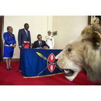 En Kenia, país donde nació su padre Foto:Instagram.com/PeteSouza