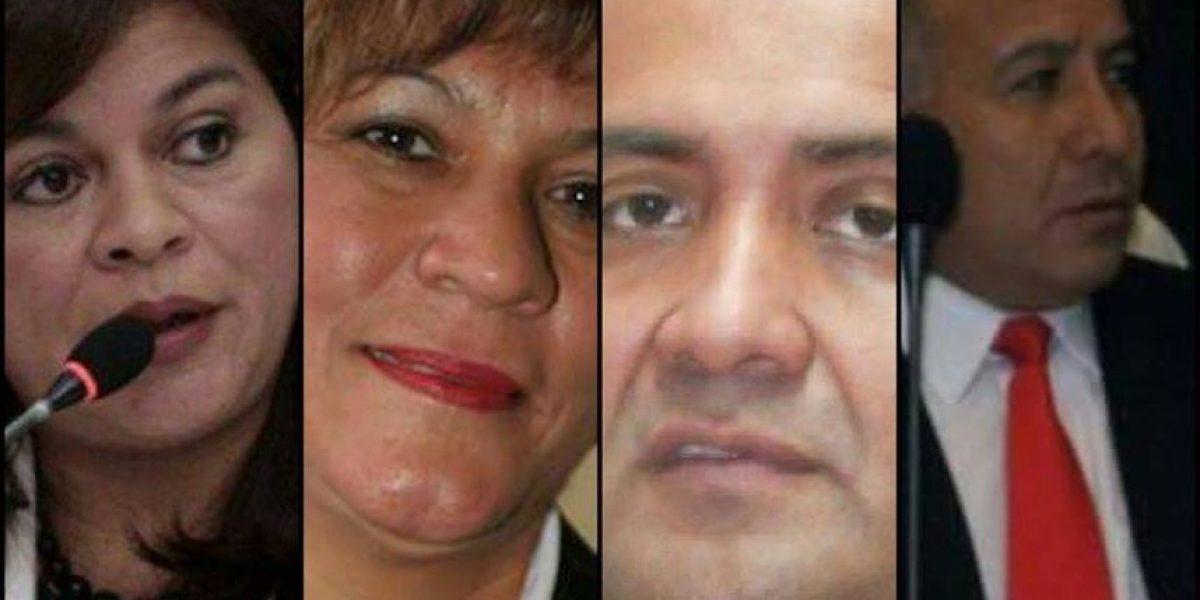 CSJ da trámite a antejuicios contra diputados de Líder y jueza Carol Flores