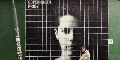 Un guatemalteco tapiza las calles en Copenhagen con su arte
