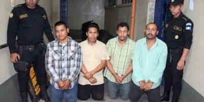 Policía sospecha que éstos detenidos colaboran con el cártel de Los Zetas
