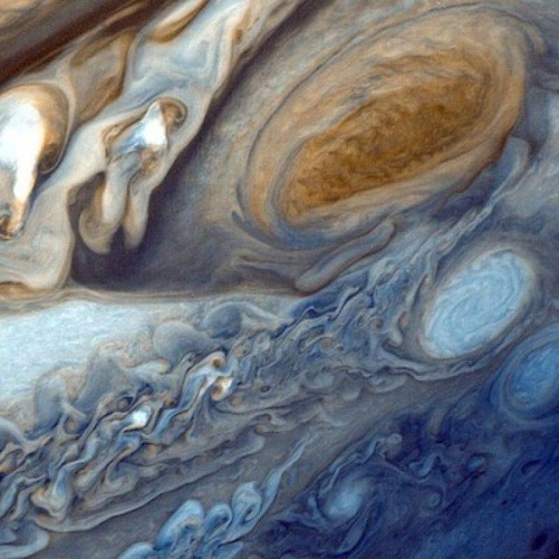 Un huracán captado en Júpiter Foto:Instagram.com/NASA