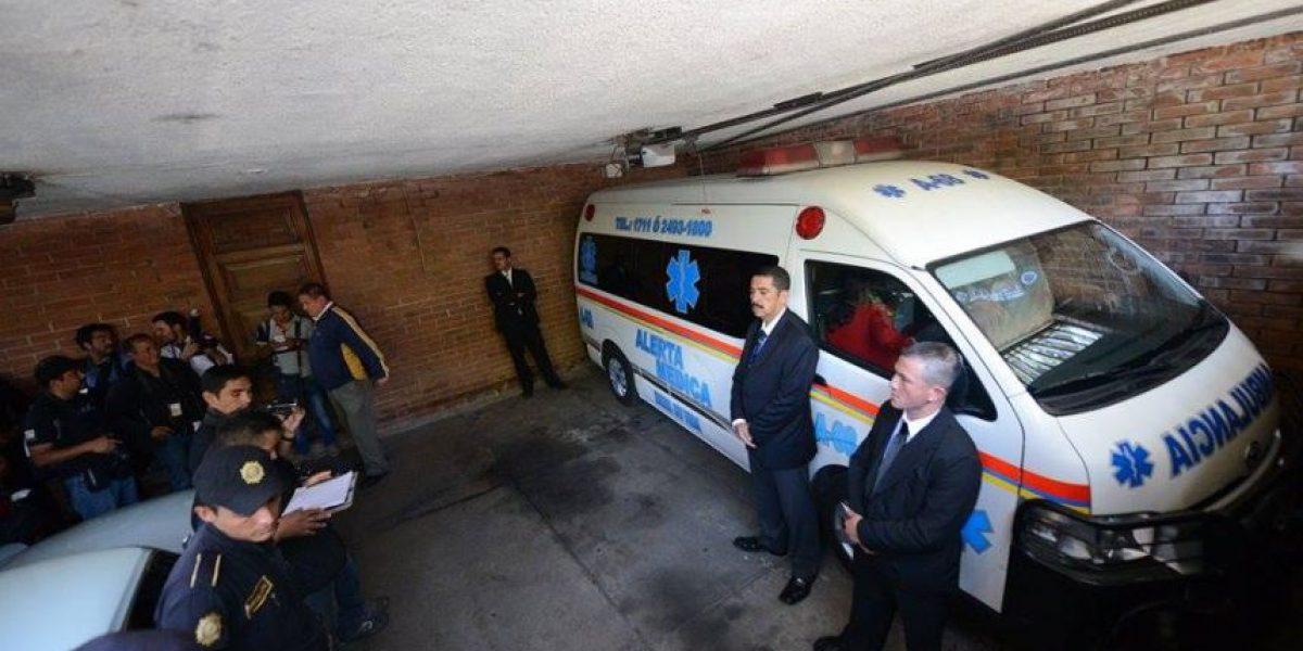 Fotos. Efraín Ríos Montt es trasladado a un hospital privado