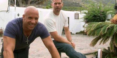 """""""Estas películas de acción pueden ser muy peligrosas, no importa lo que digan. Yo pensé: '¿Qué pasaría con Paul si yo muriera?'"""", explicó el actor Foto:Vía Facebook.com/VinDiesel"""