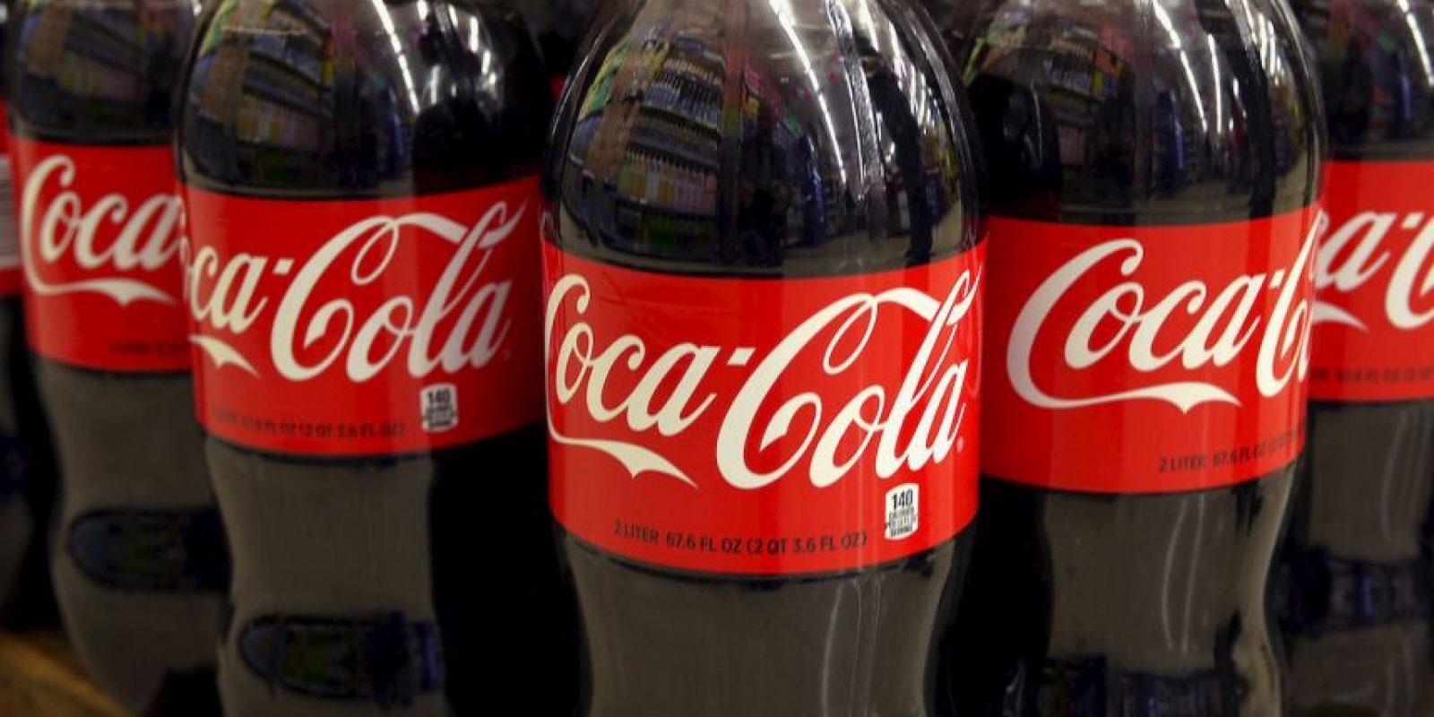 4) Coca-Cola 56 mil 100 millones de dólares Foto:Getty Images