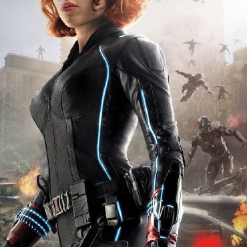 "Interpreta a ""Natasha Romanova"", que a su vez es ""Black Widow"". Foto:vía facebook.com/avengers"