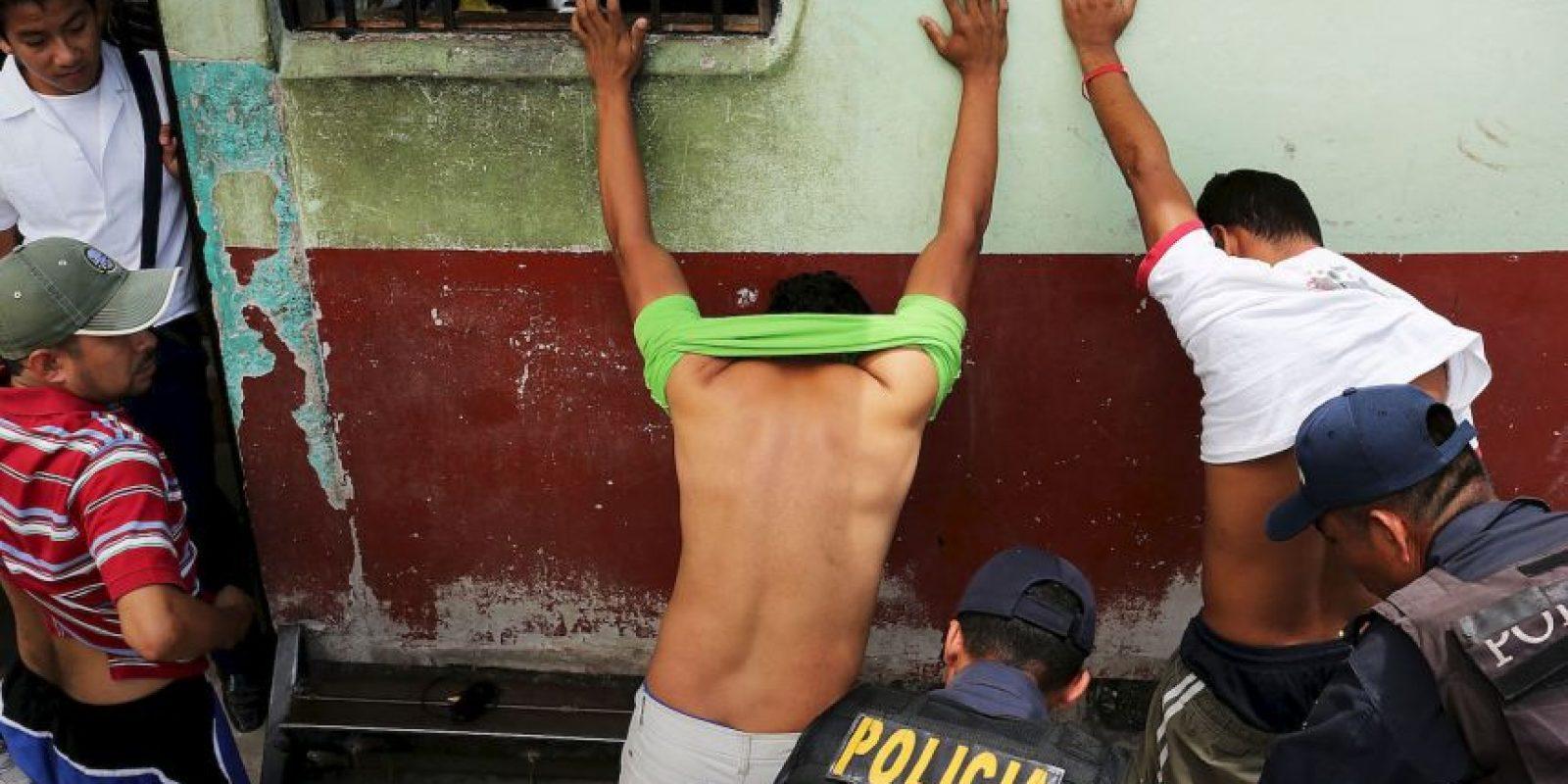 1. Honduras- Registra 85,52 homicidios por cada 100 mil habitantes Foto:Getty Images