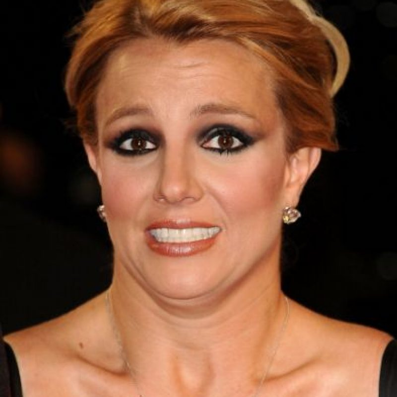 "Britney Spears con ""smokey eyes"" Foto:vía Getty Images"