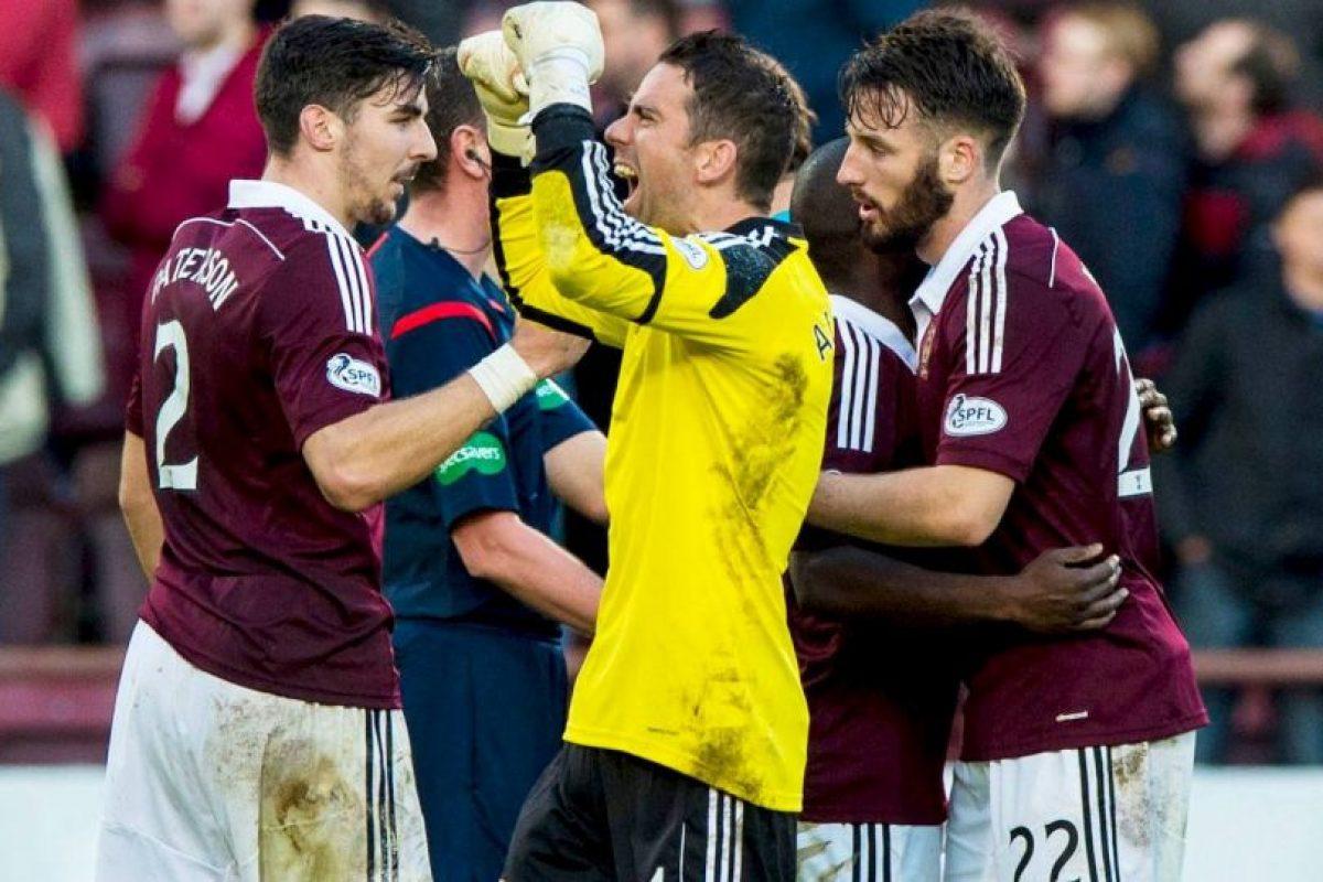 El Heart of Midlothian Football Club es un club de futbol de la ciudad de Edimburgo, en Escocia. Foto:Vía facebook.com/OfficialHeartofMidlothianFC