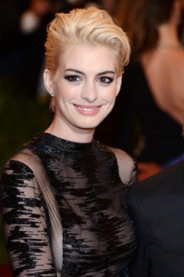 Y Anne Hathaway. Foto:vía Getty Images