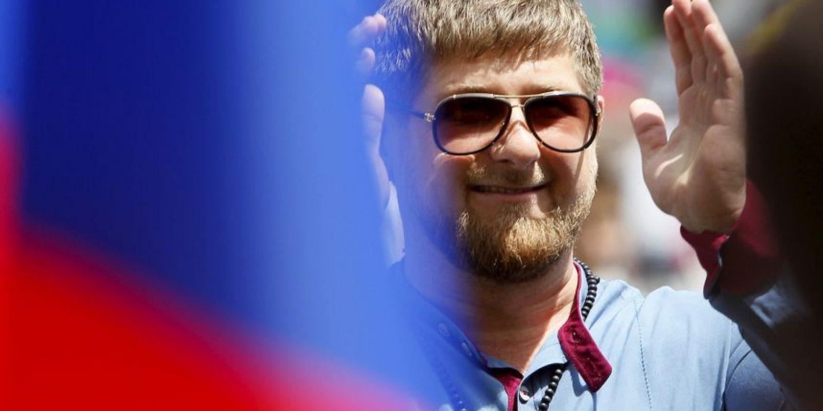 Kadýrov es también presidente del club de fútbol más destacado de Chechenia, el FC Terek Grozny Foto:Getty Images