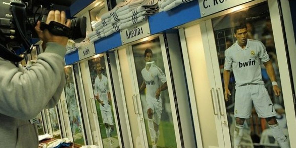 FOTOS: Así son los vestidores de los grandes equipos del fútbol internacional