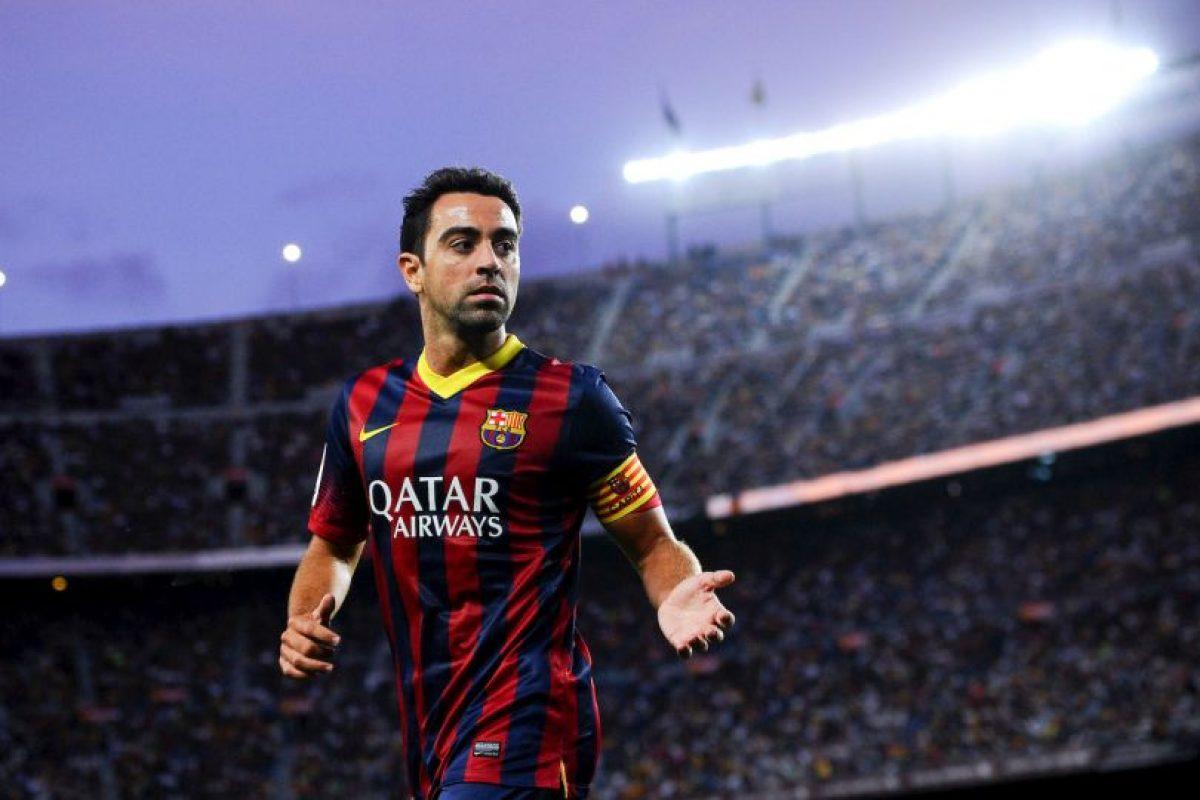7. Xavi Hernández – 28 títulos Foto:Getty Images