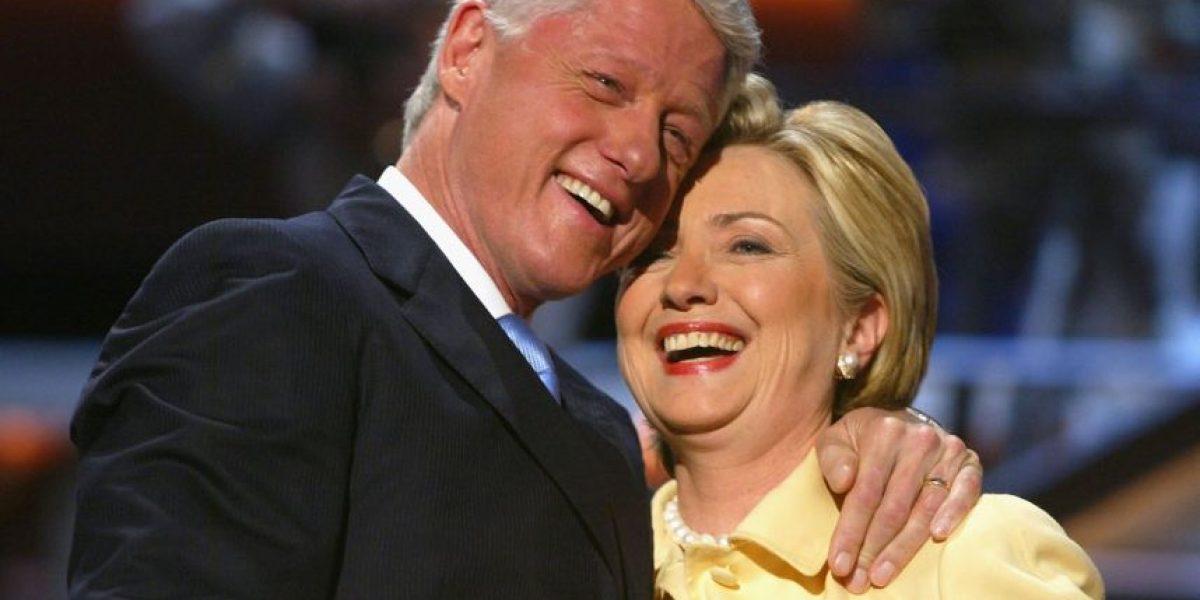 Aseguran que el matrimonio de los Clinton es falso