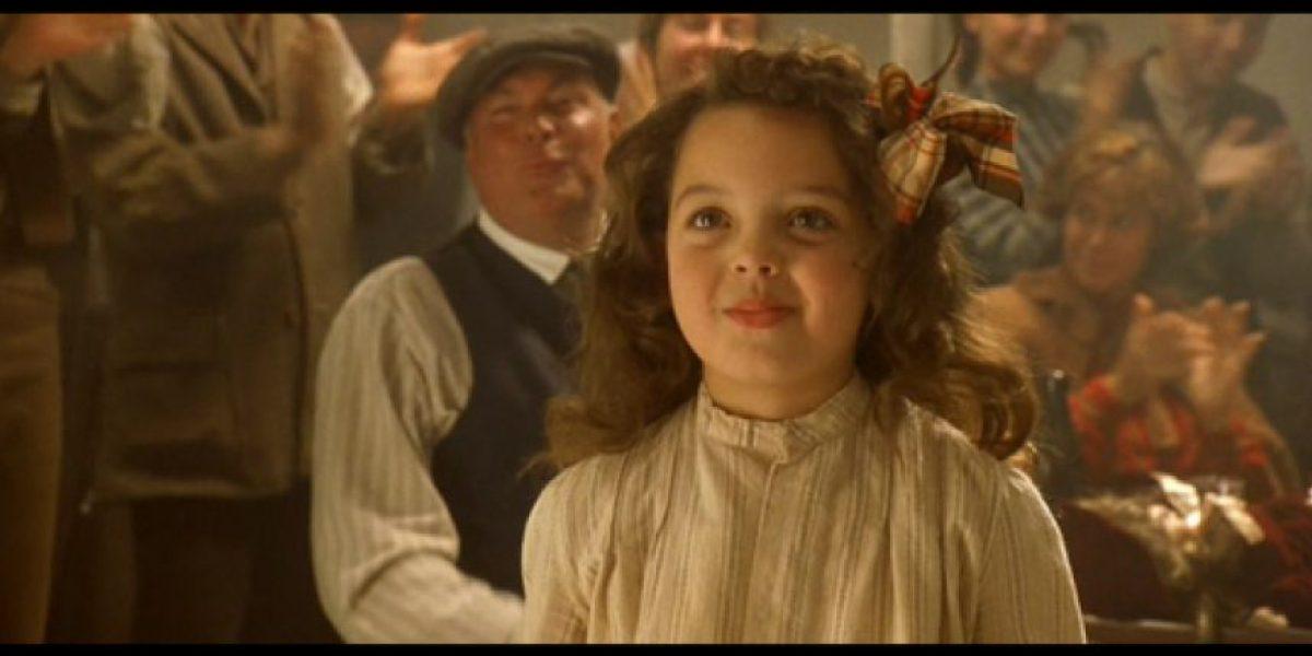 Así luce ahora la niña que bailó con Leonardo DiCaprio en