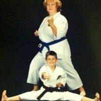 Karate Kid. Foto:Awkward Family Photos