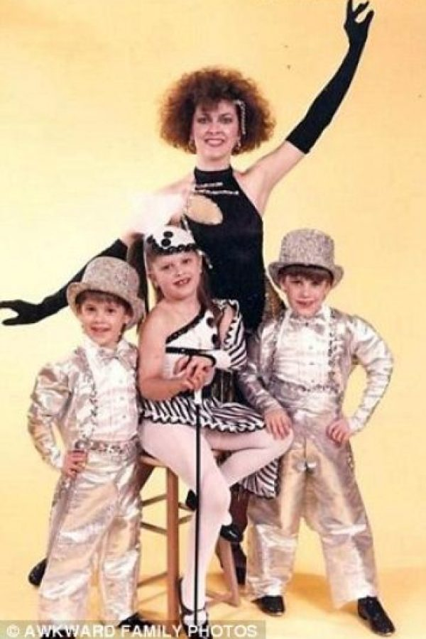 Madre corista. Foto:Awkward Family Photos