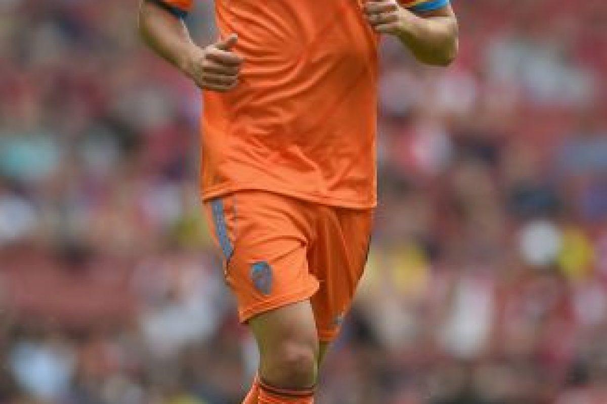 7. Dani Parejo vs Real Madrid Foto:Getty Images