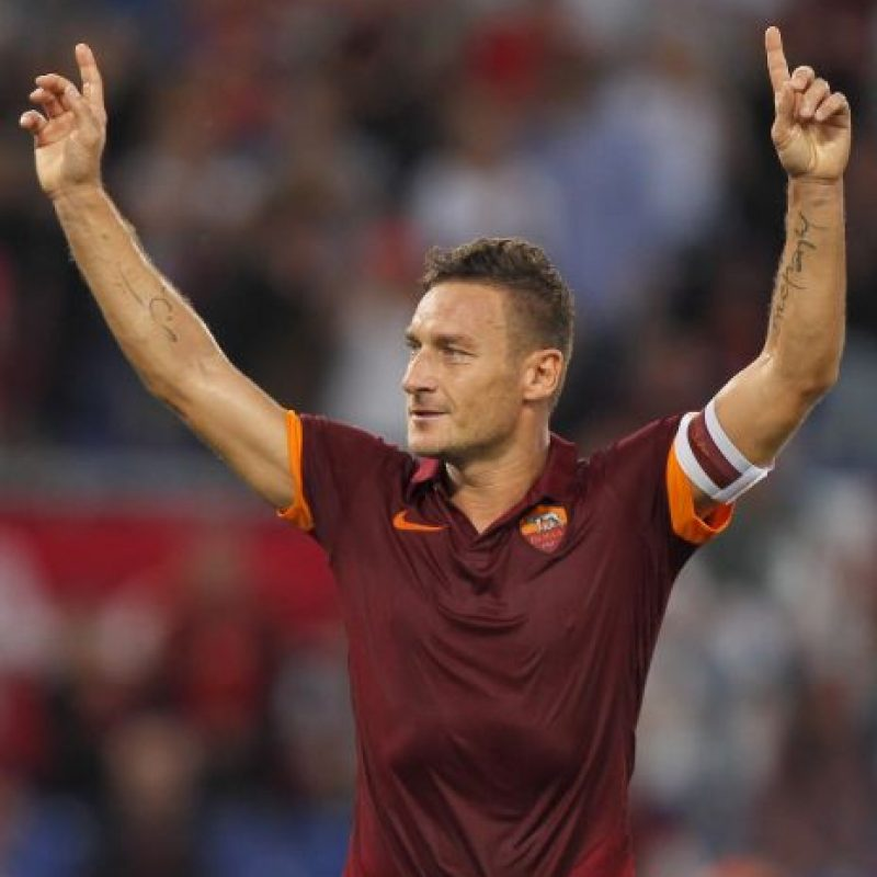 12. Francesco Totti Foto:Getty Images