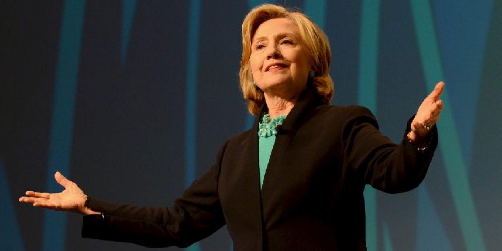 Tiene una sola hija, Chelsea Clinton y en septiembre de este año se convirtió en abuela de una pequeña que llamaron Charlotte. Foto:Getty Images