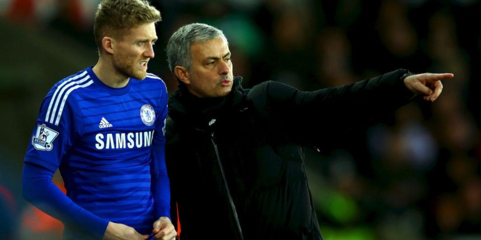 """Jose Mourinho, entrenador del Chelsea, le hizo una llamada a Andre Schurle, jugador del Wolfsburgo y que militó con los """"Blues"""" hasta el pasado mes de enero. Foto:Getty Images"""