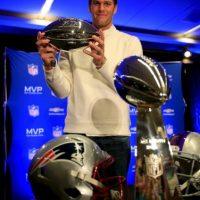 Los Patriotas de Nueva Inglaterra fueron acusados de usar balones desinflados intencionalmente, en la final de la American Football Conference (AFC) ante los Colts de Indianapolis. Foto:Getty Images