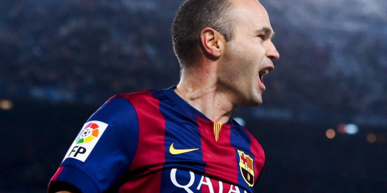 8. Andrés Iniesta – 27 títulos Foto:Getty Images
