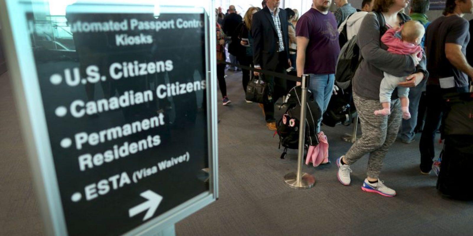 8. Este año mil 335 estadounidenses han renunciado a su ciudadanía. Foto:Getty Images